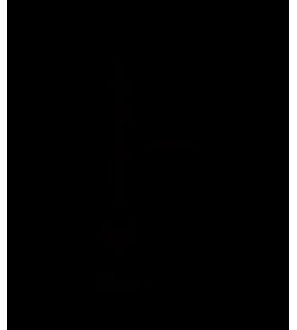 EDISON  žiarovka vTUBE 185mm