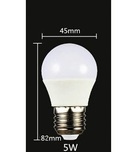 LED ŽIAROVKA 5W/E27 3000K